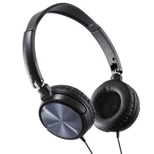 Pioneer  SE-MJ521 Dynamic Swivel Headphones - Black / Silver