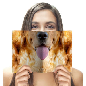 Animal Face Notebook - Dog