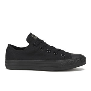 Converse Unisex Chuck Taylor All Star OX Canvas Trainers - Black Monochrome