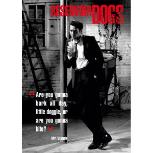 Reservoir Dogs Mr Blonde - Maxi Poster - 61 x 91.5cm