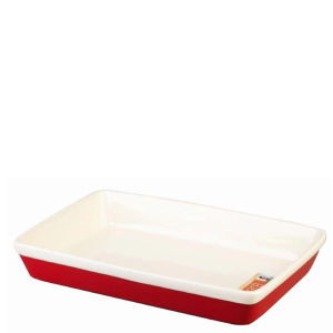 Gino D'Acampo 28cm Rectangular Baker - Red