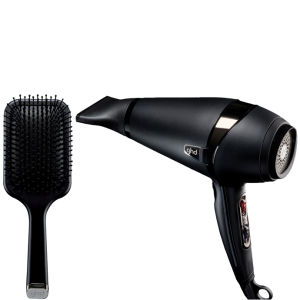 GHD Air Hair Dryer und Paddle Brush