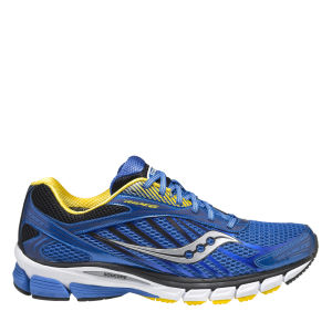 Saucony Men's Ride 6 Running Shoe - Blue/Yellow/Black