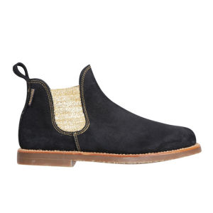 Penelope Chilvers Women's Safari Suede Chelsea Boots - Black