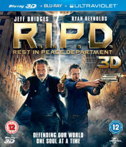 R.I.P.D 3D (incluye copia UltraViolet Copy y version 2D)