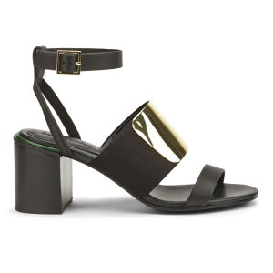 See by Chloe Women's Block Heeled Sandals - Black