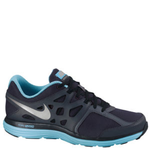 Nike Men's Dual Fusion Lite Running Shoes - Navy