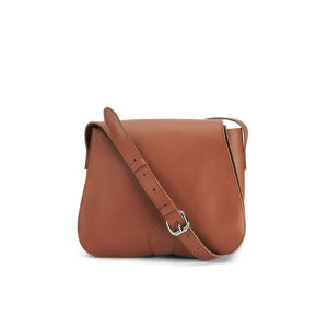 Sandqvist Women's Malin Leather Saddle Bag - Cognac Brown