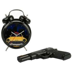 Alarm Clock: Shoot the Clock with Gun Remote