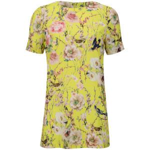 Glamorous Women's Floral Dress - Yellow