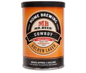 Cowboy Golden Lager Beer Refills