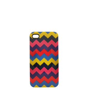 House of Holland Women's Zig-Zag iPhone 4 Case - Zig Zag