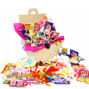 Retro Tuckshop Sweet Box  - Large