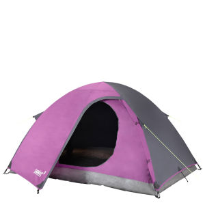 Gelert Eiger 2 Person Tent - Purple/Charcoal