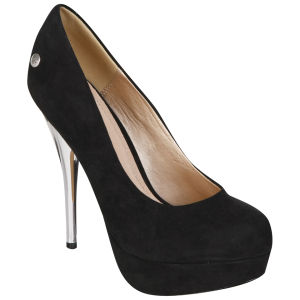 Blink Women's Suede Heels - Black