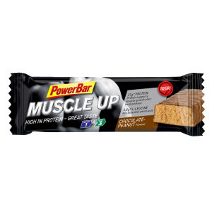 Powerbar Muscle Up Bars 90g - Box of 15 Chocolate-Peanut