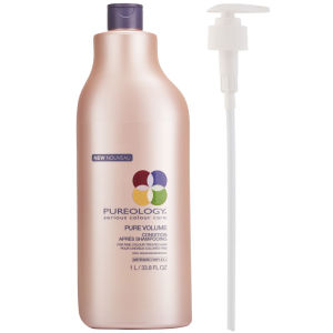 Pureology New Pure Volume Conditioner (1000ml) With Pump