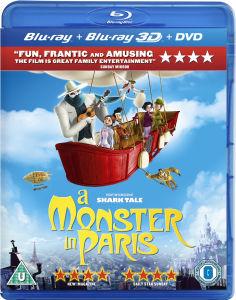 Un Monstruo en París 3D (Blu-Ray 3D, Blu-Ray 2D y DVD)