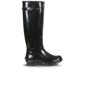 Barbour Women's Country Classic Gloss Wellington Boots - Black
