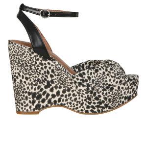 Lucky Brand Women's Viera Wedges - Snake Leopard