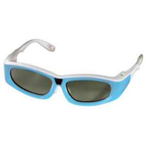 Hama 3D Shutter Glasses for Samsung 3D Televisions for Children - Blue - Grade A Refurb