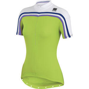 Sportful Allure Jersey - Green/White
