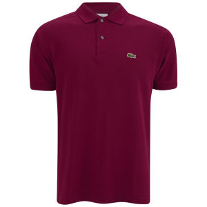 Lacoste Men's Polo Shirt - Burgundy