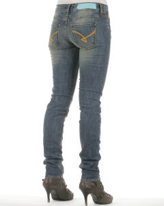 Firetrap Women's Skyler Jeans - Soup Wash Denim