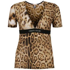 Roberto Cavalli Women's T-Shirt - Brown
