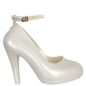 Vivienne Westwood for Melissa Women's Pearl Skyscraper Shoes - White