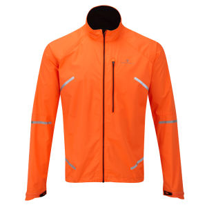 Ron Hill Men's Vizion Photon Jacket - Fluo Orange