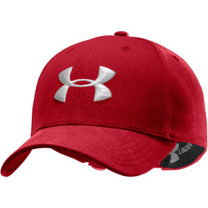 Under Armour Men's New Classic ADJ Cap - Red/White