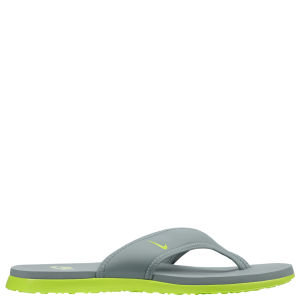 Nike Men's Celso Thong Plus Flip Flops - Grey/Green