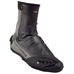 Northwave Men's Extreme Tech Plus Reflective Shoecover - Black