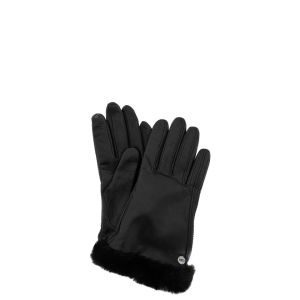 UGG Australia Women's Classic Leather Smart Gloves - Black