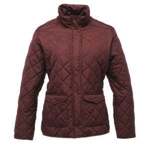 Regatta Women's Missy Quilted Jacket - Dark Burgundy