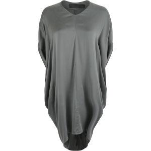 Avelon Women's Silklike Dress - Charcoal