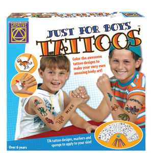 Creative Toys Just For Boys Tattoos