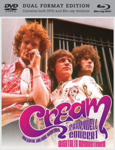 Cream Farewell Concert - Dual Format Editie (Digitally Remastered)