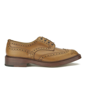 Tricker's Men's Bourton Leather Brogues - Acorn