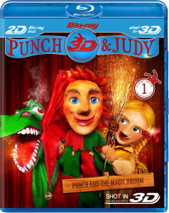 Punch and Judy 3D - Double Play (Blu-Ray and DVD)