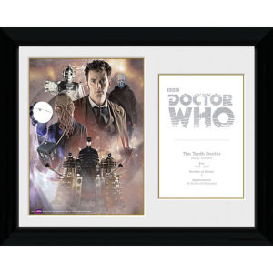 Doctor Who 10th Doctor David Tennant - 30 x 40cm Collector Prints