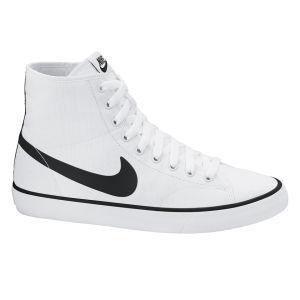 Nike Men's Primo Court Mid Trainers - White/Black