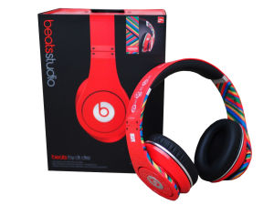 Beats by Dr. Dre Studio Noise Cancelling HD Coca Cola LTD Edition Headphones with Microphone