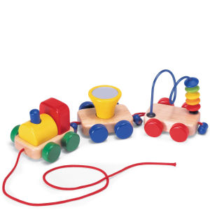 Pintoy Wooden Activity Train