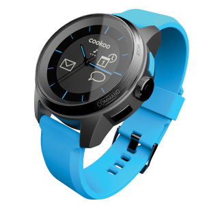 Cookoo Smartwatch - Black on Blue