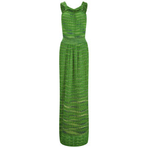 M Missoni Women's Knitted Maxi Dress - Verde Erba