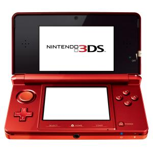 Nintendo 3DS Console (Metallic Red)