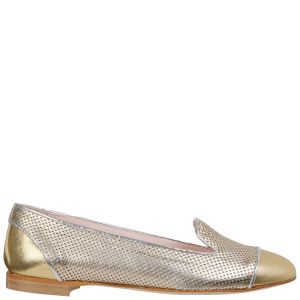 Just Ballerinas Women's Metallic Slipper Shoes  - Metallic