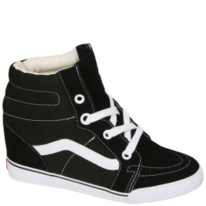 Vans Sk8-Hi Wedge Trainers - Black/True White